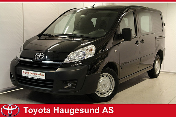 Toyota Proace 2,0 128hk L1H1 Varmeseter, aircondition, Bluetooth m.m.  2014, 61980 km, kr 199000,-