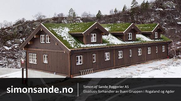 Knaben / Reinshommen – Fjelleilighet med innebygd garasje fra Simon af Sande Byggerier AS
