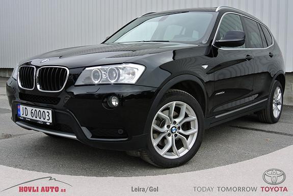 BMW X3 xDrive20d 184hk Automat Panoramatak/soltak som kan åpnes.  2011, 89600 km, kr 379000,-
