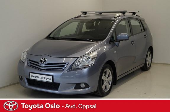 Toyota Verso 2,0 D-4D Advance 7 seter , Panoramaglasstak, Hengerfeste  2010, 134964 km, kr 169900,-