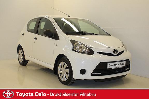 Toyota Aygo 1,0 5-d  2013, 31778 km, kr 94900,-