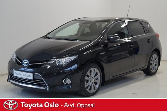 Toyota Auris 1,8 Hybrid E-CVT Executive , Panoramaglasstak,  2013, 44565 km, kr 234900,-