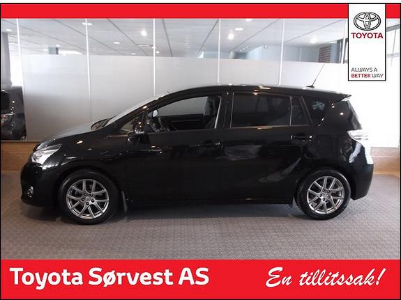 Toyota Verso 1,8 VVT-i Executive Multidrive S 7s  2013, 16150 km, kr 299000,-