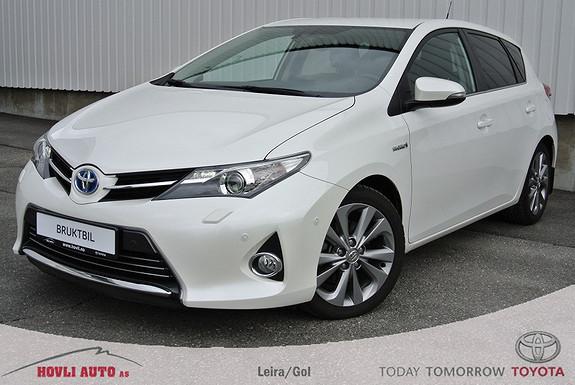 Toyota Auris 1,8 Hybrid E-CVT Executive  (Understellsbehandlet) Svingbare Xenon/ DAB+/  2013, 44000 km, kr 239000,-