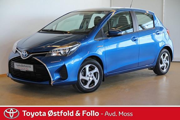Toyota Yaris 1,5 Hybrid Active e-CVT DAB+ NAVI  2014, 11350 km, kr 189000,-
