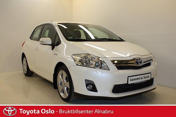 Toyota Auris 1,8 Hybrid Premium HSD Automat,  2011, 31523 km, kr 179900,-