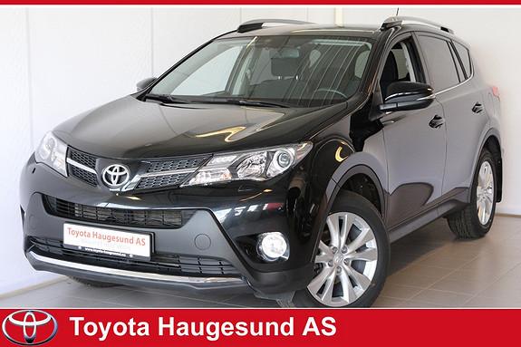 Toyota RAV4 2,0 D-4D 4WD Active Style Navigasjon, kamera, Bluetooth, 4WD, el. bakluke, tectyl  2014, 57730 km, kr 349000,-