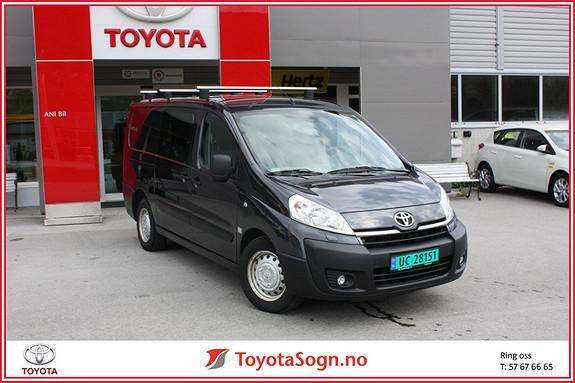 Toyota Proace 2,0 128hk L2H1 (m/bakluke)  2013, 39000 km, kr 199000,-