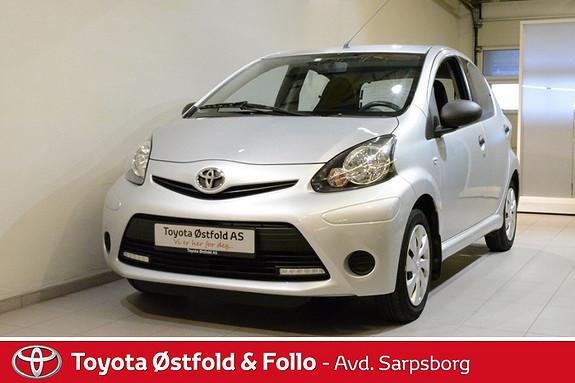 Toyota Aygo 1,0 5-d  2013, 41500 km, kr 95000,-