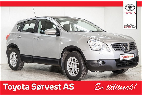 Nissan Qashqai 2,0 140 hk Tekna CVT Aut.  2007, 98075 km, kr 149000,-