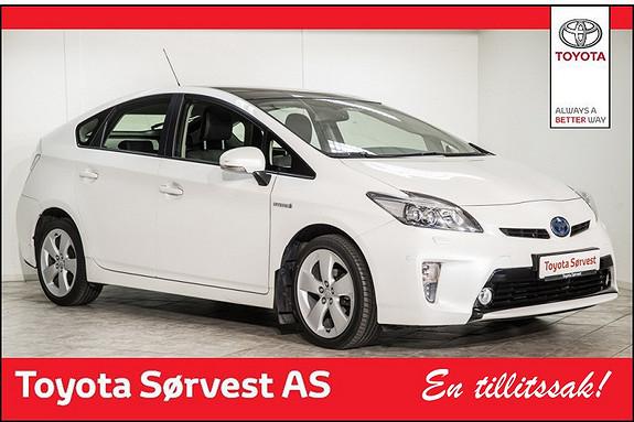 Toyota Prius 1,8 VVT-i Hybrid Premium  2012, 41030 km, kr 199000,-