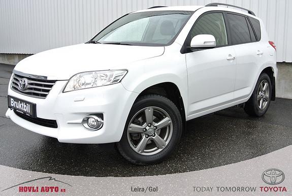 Toyota RAV4 2,2 D-4D Vanguard Executive / navigasjon & ryggekamera / nybilgaranti./ keyless go/  2012, 111300 km, kr 259000,-