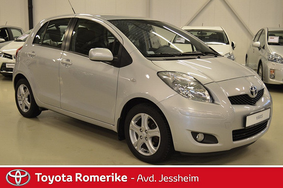 Toyota Yaris 1,33 S-Edition S&S  2010, 57 300 km, kr 109 000,-