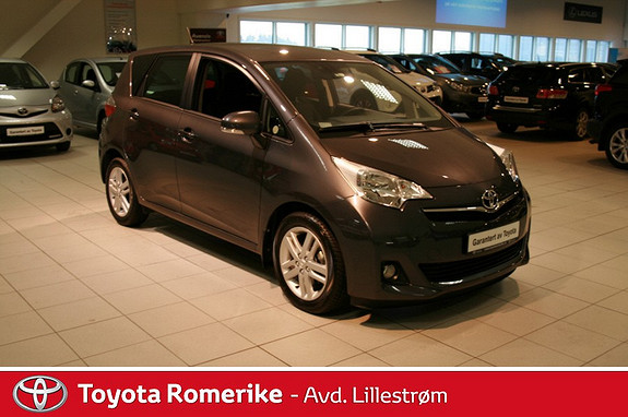 Toyota Verso-S 1,33 Elegant Multidrive S  2013, 8784 km, kr 179000,-