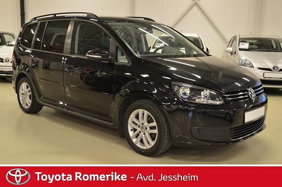 Volkswagen Touran 1,6 TDI DSG7 Comfortline  2010, 94300 km, kr 139000,-