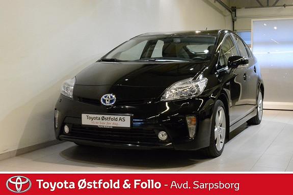 Toyota Prius 1,8 VVT-i Hybrid Executive , INNTIL 10 ÅRS HYBRIDBATTERIGARANTI,  2013, 47900 km, kr 215000,-