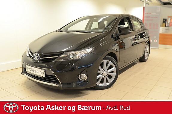 Toyota Auris 1,8 Hybrid E-CVT Active Go navi  2013, 42800 km, kr 219000,-