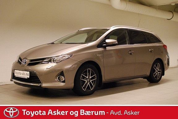 Toyota Auris Touring Sports 1,8 Hybrid Active+ RENTEKAMPANJE 2,95%  2014, 27300 km, kr 255000,-
