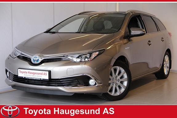 Toyota Auris 1,8 Hybrid E-CVT Executive Skinn, navi, Tectyl, kamera, Bluetooth, norsksolgt!  2015, 6201 km, kr 309000,-