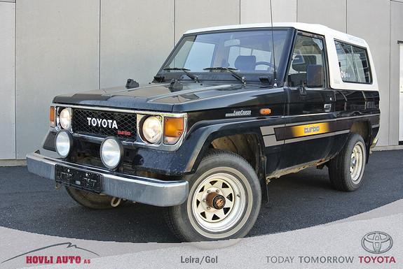 Toyota Land Cruiser LJ 73 Hengerfeste - Turbo 90hk  1987, 250555 km, kr 25000,-