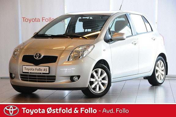 Toyota Yaris 1,3 Sol Multi Mode +  2008, 57508 km, kr 109000,-