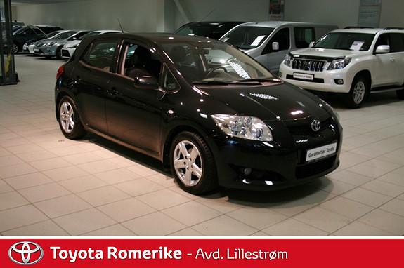Toyota Auris 1,4 D-4D Sol MM  2007, 124512 km, kr 95000,-