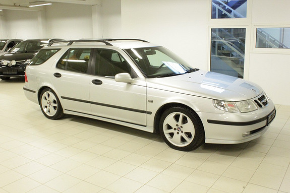 Saab 9-5 2,0 T Eco Vector aut  2003, 205000 km, kr 74000,-