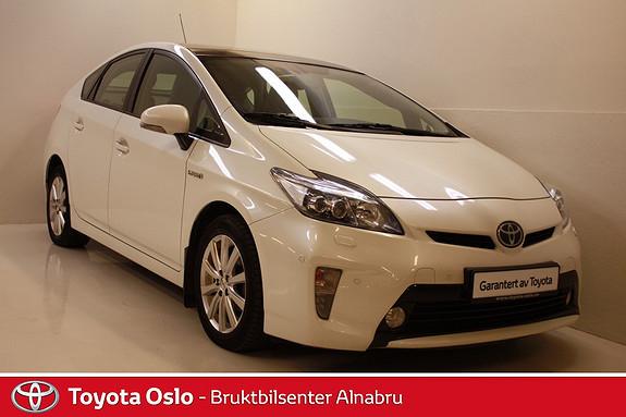 Toyota Prius 1,8 VVT-i Hybrid Premium Pre Crash, navigasjon, ryggekamera, skinn,  2012, 51860 km, kr 199900,-