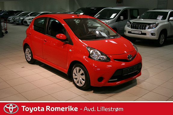 Toyota Aygo 1,0 + 5-d  2013, 43406 km, kr 115000,-