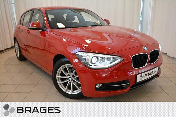 BMW 1-serie 116d 1-eier! Sportline, Ryggekam/sensor, DAB, Xenon, Sportseter, Cruise m/ brems++  2013, 45800 km, kr 199000,-