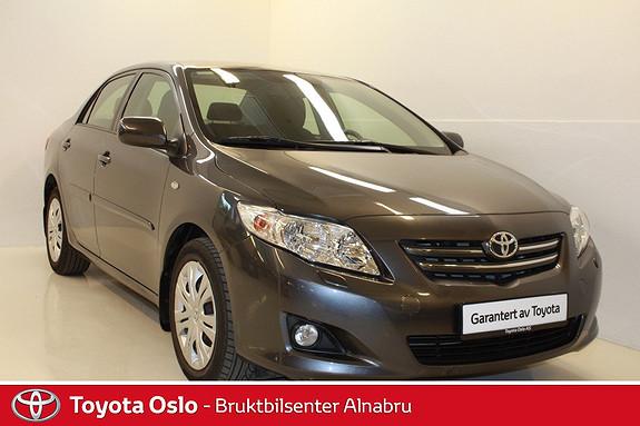 Toyota Corolla 1,6 Sol aut LAV KM!  2007, 33314 km, kr 114900,-