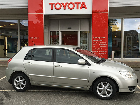 Toyota Corolla 1,4 D-4D Sol  2007, 147562 km, kr 75000,-