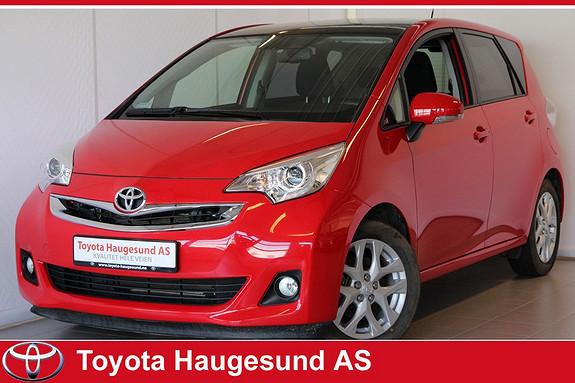 Toyota Verso-S 1,33 Elegant Automat Navigasjon, ryggekamera, Bluetooth, cruisecontrol, glasstak  2014, 21683 km, kr 230000,-
