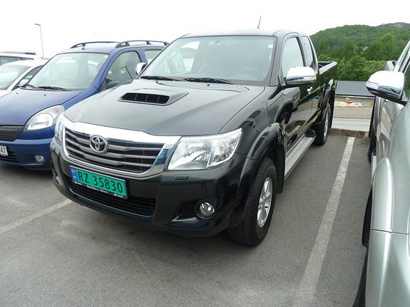 Toyota HiLux D-4D 144hk Extra Cab 4WD SR  2013, 72445 km, kr 289000,-