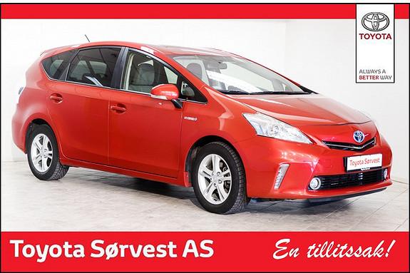 Toyota Prius+ Seven 1,8 VVT-i Hybrid Executive  2014, 29800 km, kr 329000,-