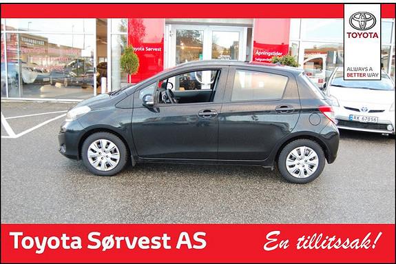 Toyota Yaris 1,33 Active  2013, 38800 km, kr 169000,-