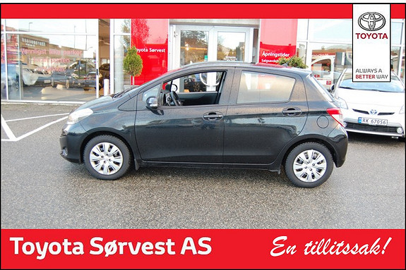 Toyota Yaris 1,33 Active  2013, 33650 km, kr 159000,-
