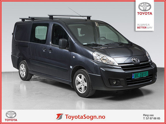 Toyota Proace 2,0 128hk L2H1 (m/bakluke)  2013, 44000 km, kr 189000,-