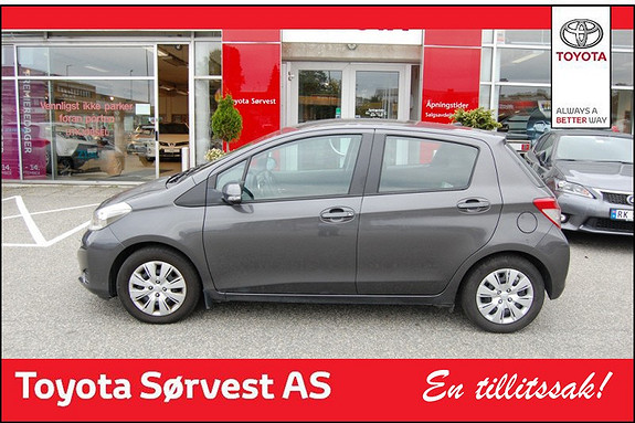 Toyota Yaris 1,4 D-4D Active  2012, 36500 km, kr 169000,-
