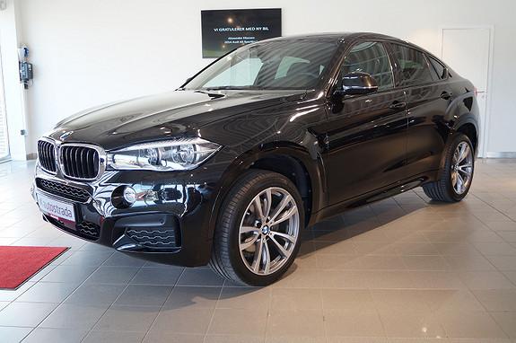 BMW X6 30dA M-sport  2016, 8500 km, kr 1049000,-