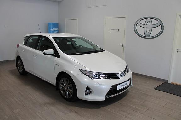 Toyota Auris 1,8 Hybrid E-CVT Active Go navi **SVÆRT VELHOLDT**DAB RADIO**RYGGEKAMERA**NAVI  2013, 42850 km, kr 209000,-