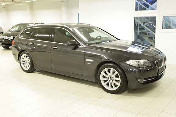 BMW 5-serie 525d xDrive (218hk) Sportautomat  2012, 197000 km, kr 394000,-