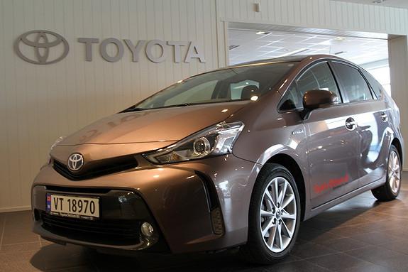 Toyota Prius+ Seven 1,8 VVT-i Hybrid Executive Skyview  2015, 40000 km, kr 329000,-