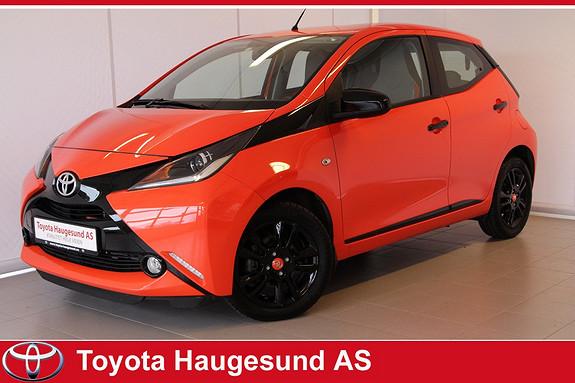 Toyota Aygo x-cite 1,0 x-shift  2015, 6328 km, kr 150000,-