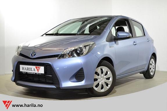 Toyota Yaris 1,5 Hybrid Active Ryggekamera, Navigasjon, Bluetooth  2013, 43248 km, kr 169000,-