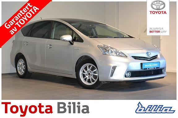 Toyota Prius+ Seven 1,8 VVT-i Hybrid Executive Skyview , Norsk bil,  2013, 97000 km, kr 224000,-