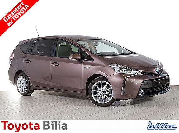Toyota Prius+ Seven 1,8 VVT-i Hybrid Executive stor automat familiebil, demokjørt  2015, 205244 km, kr 339000,-