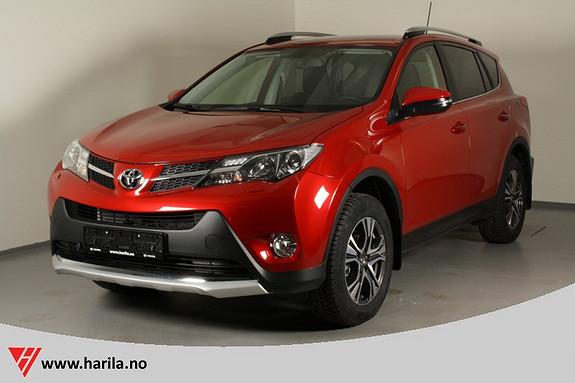 Toyota RAV4 2,0 D-4D 4WD Active  2014, 14000 km, kr 379000,-