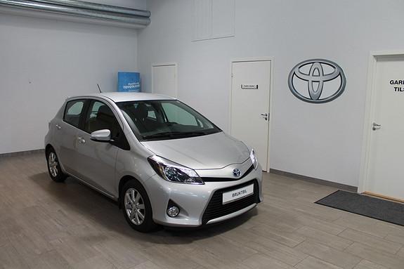 Toyota Yaris 1,5 Hybrid Active VELHOLDT, LAV KM, TECTYL BEHANDLA, RYGGEKAMERA,  2013, 28500 km, kr 169000,-
