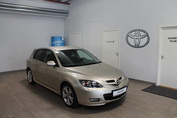 Mazda 3 1,6 105hk Touring **SVÆRT VELHOLDT, HENGERFESTE, SKINNSETER, BOSE STEROANLEGG++**  2008, 109000 km, kr 99000,-